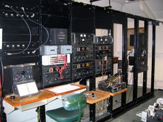 Radio equipment found in the same room as the Heath Robinson and Tunny machines.
