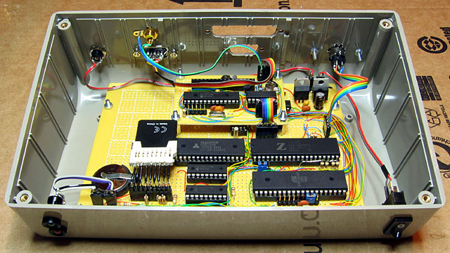 Z80 computer in its enclosure