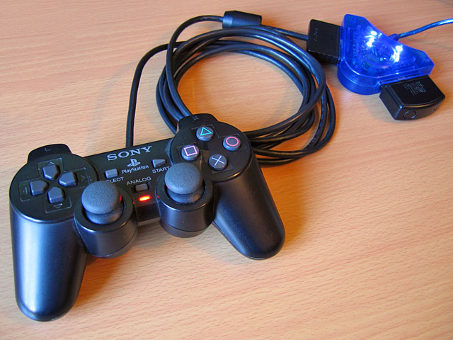 Fixed PlayStation to USB adaptor